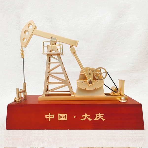 锌合金电动抽油机模型(大号)