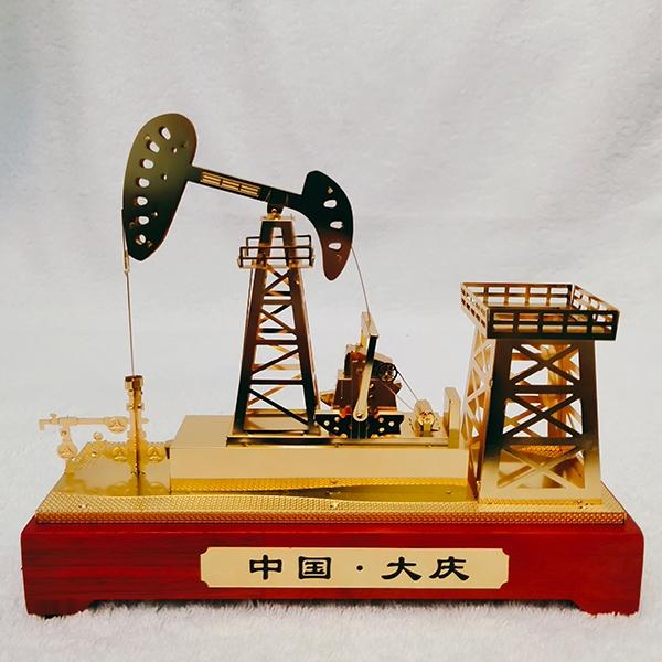 黑龙江锌合金抽油机模型