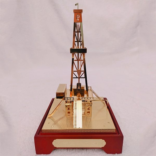 钻井台模型