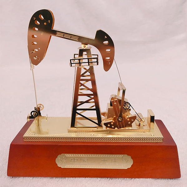 绥化锌合金抽油机模型